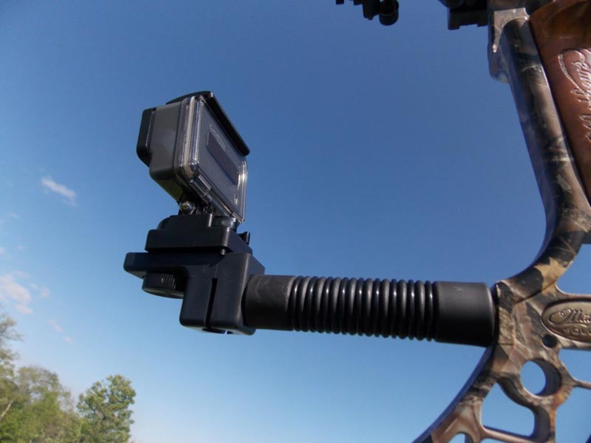 Bow Stabilizer With Camera Mount