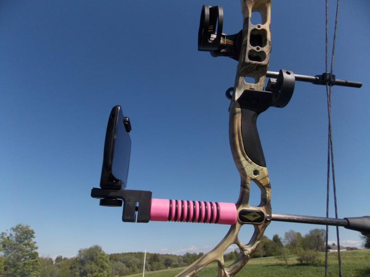 Bow Stabilizer With Camera Mount_3