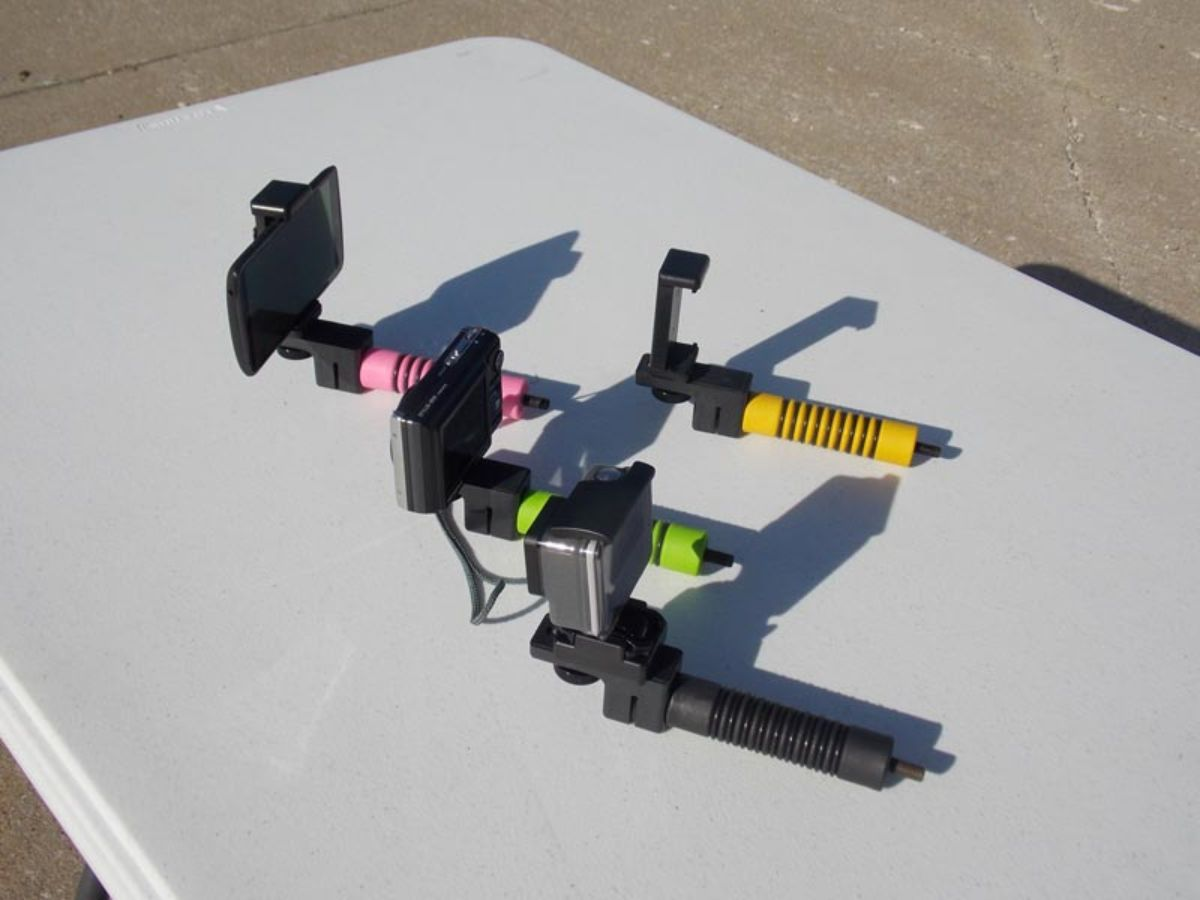 Bow Stabilizer With Camera Mount_5