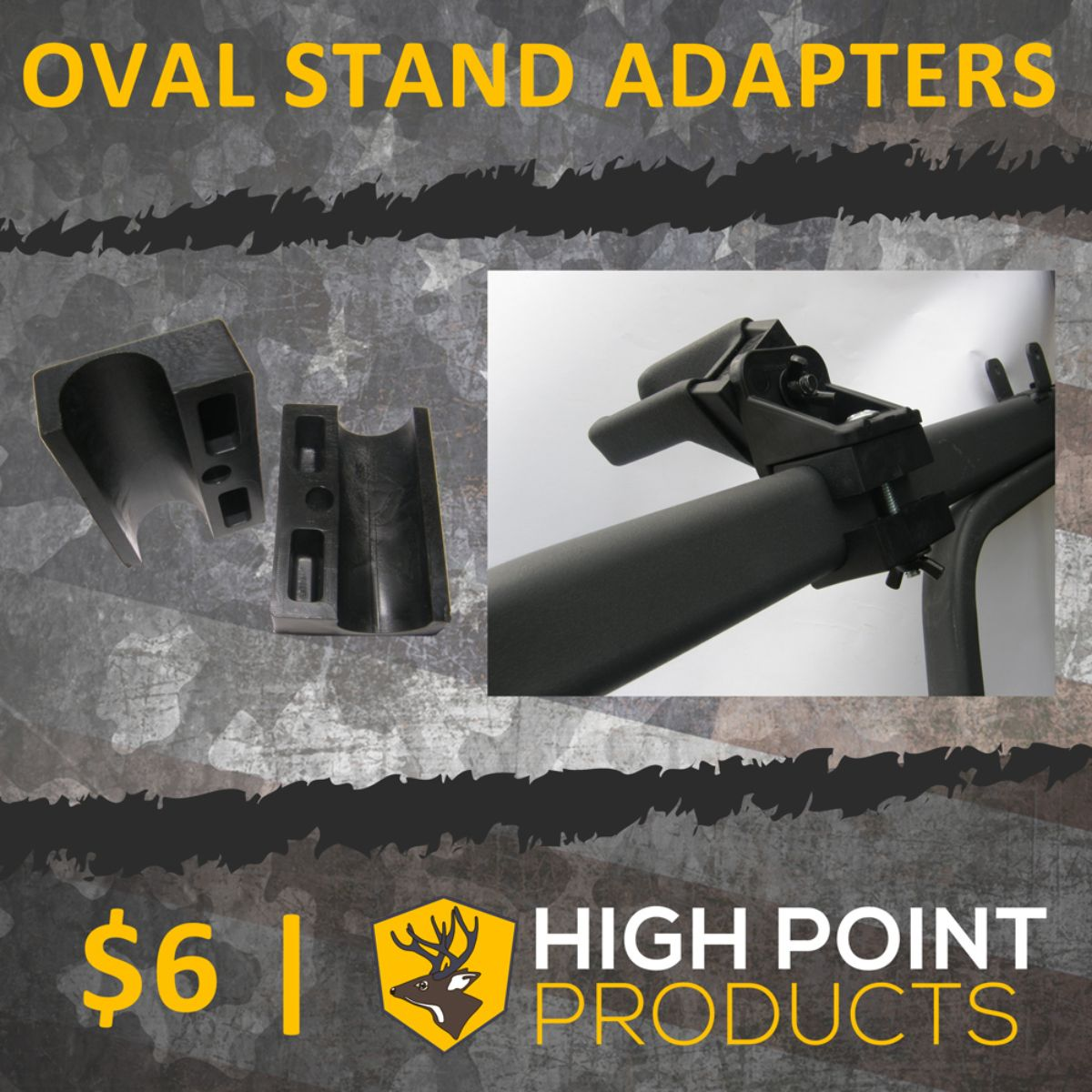 Oval Tree Stand Adapters