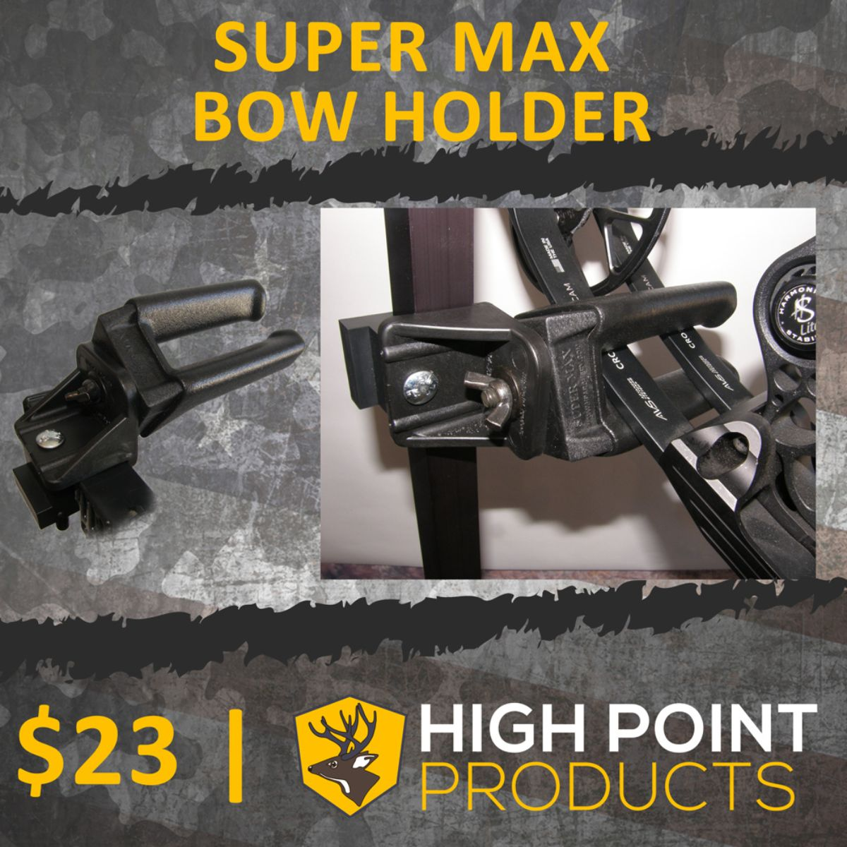 Super Max Bow Holder